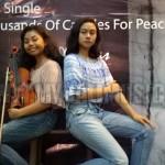 Aya & Laras Serukan Perdamaian dalam Keberagaman